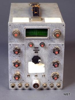 Subminiaturized Radar Indicator Oscilloscope from the 1950s, from the NIST Digital Archives.