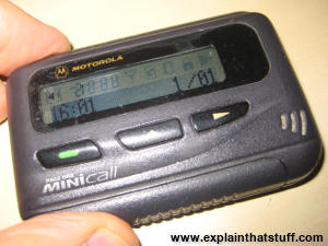 How do radio pagers work? - Explain that Stuff
