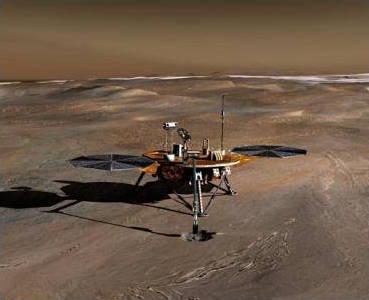 Phoenix Mars Lander - artist's impression.