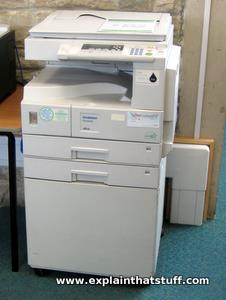 How does a photocopier work - Explain that Stuff