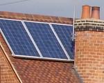 A small photovoltaic solar panel