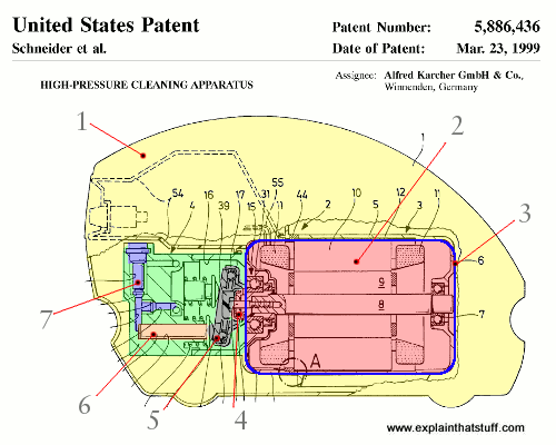 pressure washer karcher patent how does a pressure washer work? explain that stuff hot water pressure washer wiring diagram at virtualis.co