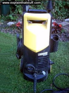 Kärcher pressure washer