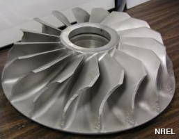 A reaction turbine