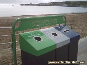 Seaside Recycling Bins