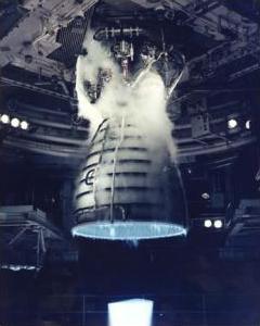 Space Shuttle rocket engine