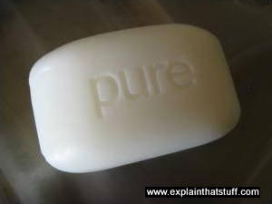 A bar of pure soap