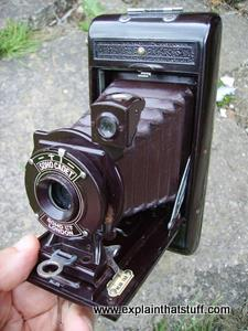A Soho Cadet portable camera from about 1930.