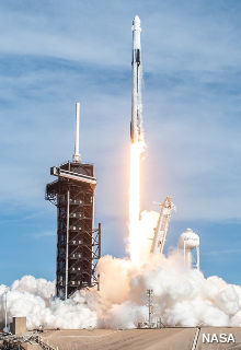 SpaceX Falcon 9 launch in December 2020