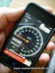 Speedometer Complete iPhone app.