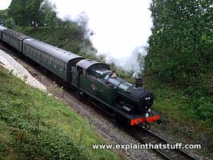 steam locomotive how do steam engines work? who invented steam engines?