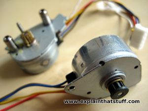 how do stepper motors work explain that stuff