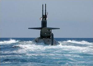 USS Dallas Submarine