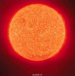 The sun as a source of heat energy