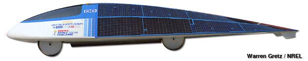 GM Sunraycer Experimental solar car