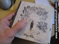 Hand holding Takk album by Sigur Ros