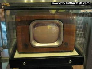 1949 black and white television