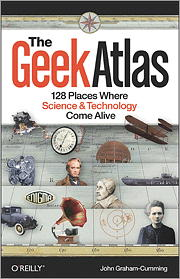 Cover of the Geek Atlas book