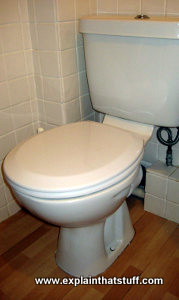 Modern low-flush toilet