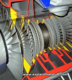 Model of a steam turbine at Think Tank science museum, Birmingham, England.