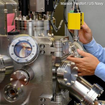 Laser vapor deposition apparatus.