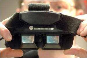 virtual reality head mounted display