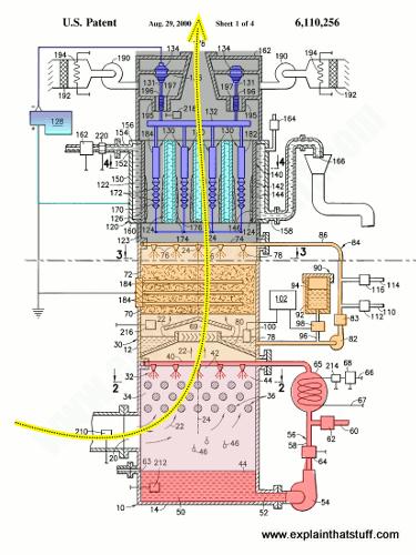 How does an electrostatic smoke precipitator work?