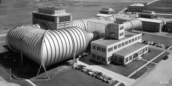 High speed 16ft wind tunnel at the NACA Ames Aeronautical Laboratory