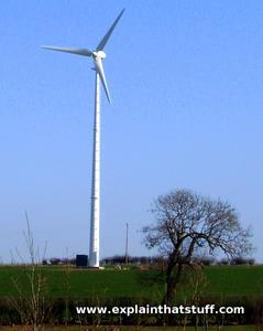 225kW wind turbine in Staffordshire, England