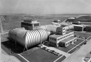 High speed wind tunnel at the NACA Ames Aeronautical Laboratory