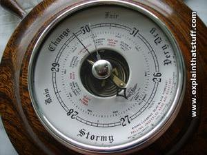 Air guide barometer compensated dating