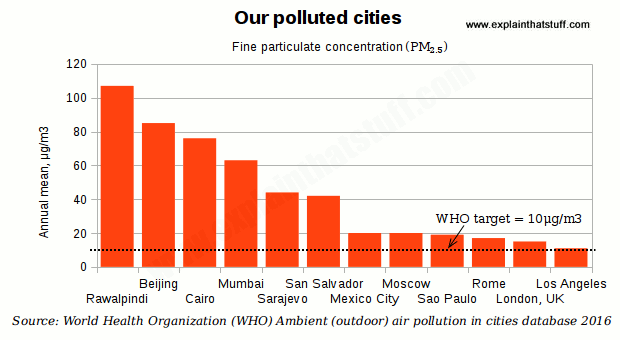 pollution and example large cities Environmental problems of modern cities urban environmental problems are mostly inadequate water supply, wastewater, solid waste, energy, loss of green and natural spaces, urban sprawl, pollution of soil, air, traffic, noise, etc.